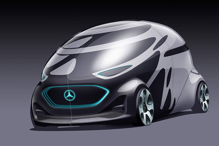New revolution:Vision URBANETIC The future of smart cars benz